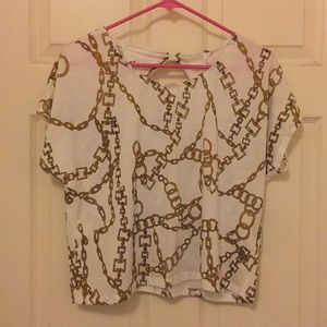 Forever 21 Chain Design Tee